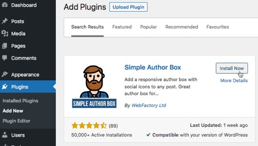 Simple Author Box—installation simple-author-box-install.jpg