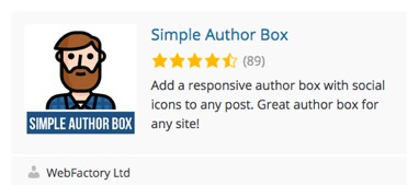 Simple Author Box Plugin simple-author-box-plugin.jpg