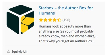 Starbox plugin for showing the author description starbox-plugin-author-description.jpg