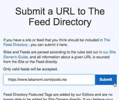 Submit your feed to the RSS submission site pine.blog pine.blog pine-blog-submission.jpg