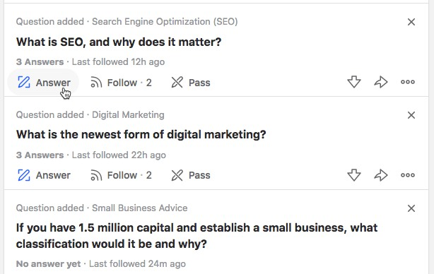 Pick a question to answer quora-pick-question.jpg