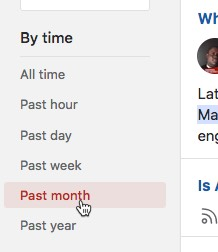 Use Quora's time filters for more recent results quora-time-filters.jpg